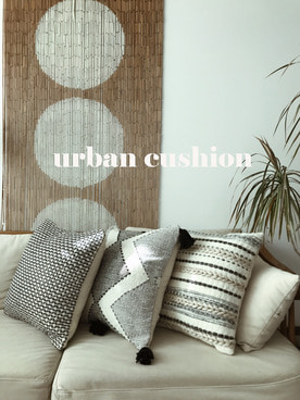 urban cushion (3 pattern)